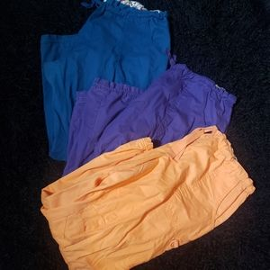 Lot of 3 KOI lindsay scrub pant E